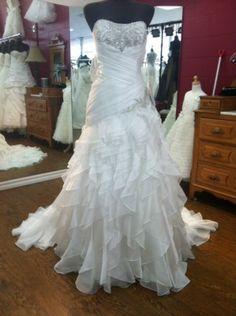 Alfred Angelo Disney Wedding Dress Jasmine Style 215 Size 12 | eBay