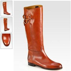 Sachi Light Brown Leather Wrap-Around Strap Riding Boots — Wrap-around straps with polished buckles adorn this tall silhouette of supple leather. Women's Equestrian Style Fashion Boots