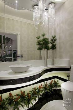 Luxury Homes Interior, Home Interior Design, Casa Top, Modern Master Bathroom, Villa, Interiores Design, Modern Architecture, Beautiful Homes, New Homes