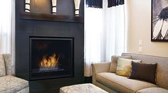 Most up-to-date Free of Charge curved Fireplace Remodel Strategies Incorporating modern fireplaces into transitional, and even traditional, spaces Direct Vent Gas Fireplace, Outdoor Gas Fireplace, Fireplace Inserts, Contemporary Fireplace Designs, Modern Fireplaces, Fireplace Remodel, Fireplace Ideas, Wood Mantle, Curved Wood