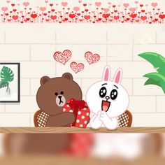 Cony Brown, Brown Bear, Line Cony, Profile Wallpaper, Bunny And Bear, Brown Line, Friends Wallpaper, Toy Chest, Mocha Brown