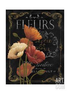 Fleurs for decoupage Images Vintage, Vintage Diy, Vintage Labels, Vintage Cards, Art Floral, Deco Floral, Impressions Botaniques, Vintage Seed Packets, Chalkboard Art