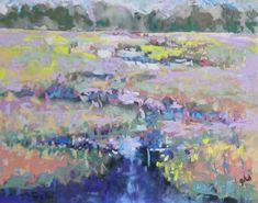 M Marsh - Original Fine Art By Ginny Stocker