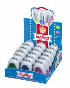 Double Hole Canister Pencil Sharpeners (Set of 18) with Display by Maped. $45.99. M506900D Features: -18 Per box.-Double-hole, metal sharpeners inside plastic casings. Color/Finish: -Assorted colors. Collection: -Canister collection.. Save 12% Off!