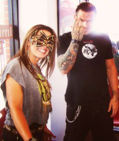 Jeff Hardy and Mickie James
