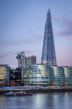 Photographic Print: The Shard, City Hall and Downtown Buildings, London, England, Uk by Brian Jannsen : England And Scotland, England Uk, London England, Oxford England, Cornwall England, Yorkshire England, Yorkshire Dales, England Patriots, The Shard London