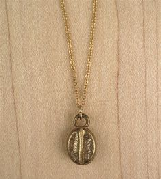 Gold Coffee Bean Necklace | Women's Jewelry | Muses & Rebels | Scoutmob Shoppe | Product Detail
