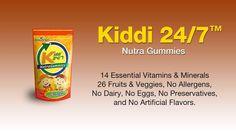 Kiddi 24/7 Nutra-Ceutical Gummy   reneriojosecapareda