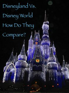 Disney world or Disneyland, we help you decide which is the better fit for your family vacation.