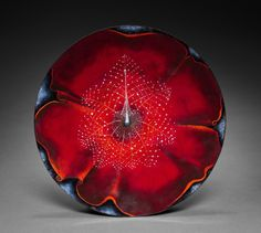 Kenneth F. Bates (American, 1904-1994), enamel, Diameter: w. 28.00 cm (11 inches). Bequest of Marie Odenkirk Clark 1972.198