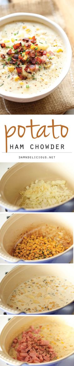 Potato Ham Chowder