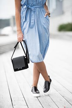 By Malene Birger shirt dress and bag from www.jeanettesun.no