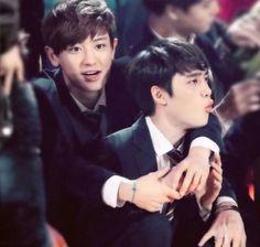 Chanyeol with my squishy  #exo #exok #exol #exordium #exodus #xoxo