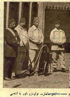 İstanbul, 1892 Tebhirhane (dezenfeksiyon) görevlileri
