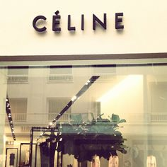 Céline in Paris