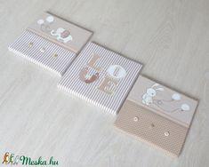 FALIKÉP SZETT - Nyuszikás (022.) (NoaNoa) - Meska.hu Diy, Bricolage, Do It Yourself, Homemade, Diys, Crafting