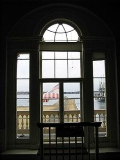 View from the 2nd floor of the Customs House