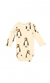 MINI RODINI Body Pingüino