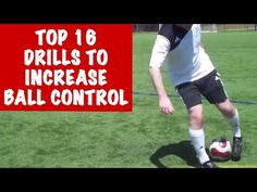 TOP 16 Fast Footwork Soccer Drills To Improve Ball Control, Touch and Speed - YouTube