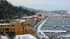 Nevicata Porto Ercole 2012