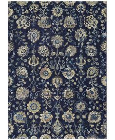 Couristan Taylor Adaline Navy Cream 27 X 710 Runner