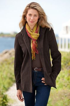 Love Scarves and Jackets!