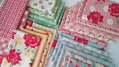 END OF BOLT 2 yd Pink Trio Blooms Fabric Moda Fabric 7 Kristyne Czepuryk Guest Room Fabric Flower Fabric Floral Fabric