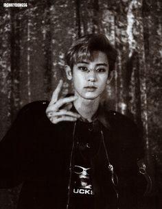 """EXO Chanyeol """"LOTTO"""" 2nd Teaser image"""