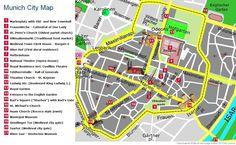 city map of munich