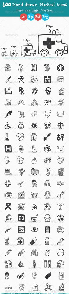 Hand+Drawn+Medical+and+Health+Care+Icons
