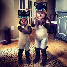 We Are Siameeeese! ( Cat Costumes) - littlepinkmonster.com
