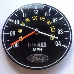 Classic Ford Escort Mk1 Mk2 RS2000 Capri Cortina retro wall clock custom mancave | eBay