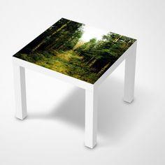 """Die #Klebefolie mit dem Design """"Green Alley"""" für deine IKEA Möbel und vieles mehr… #IKEA #Hacks #LACK"""