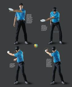 Zach Johnson's coach reveals the 6 steps to a Tour-level golf swing - Golf - Zach Johnson's coach reveals the 6 steps to a Tour-level golf swing – Golf - Thema Golf, Golf Backswing, Golf Chipping Tips, Golf Videos, Golf Instruction, Golf Exercises, Workouts, Golf Putting, Golf Tips For Beginners