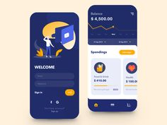 Personal Budget App designed by Ann Negrebetskaya for STFN. Connect with them on Dribbble; the global community for designers and creative professionals. Best Ui Design, App Ui Design, Design Design, Dashboard Design, Android Design, Graphic Design, Layout Design, Ui Design Mobile, Budget App