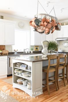 Miss Mustard Seed Farmhouse Style Kitchen