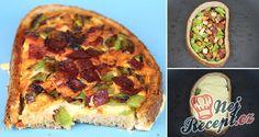 NapadyNavody.sk | Pizza chlebíček - raňajky alebo večera pre poriadneho chlapa (Video recept)