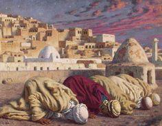 Etienne Dinet, La pintura de un francés en Argelia 1861