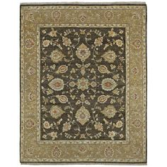 Hand Knotted Royal Signature Charcoal Windsor Rug