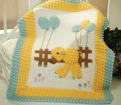 Yeni Bebek Battaniye Örgü Modelleri 1