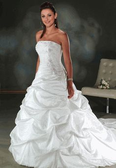 White Wedding Dresses with Red Accents | White-Wedding-Dresses.jpg