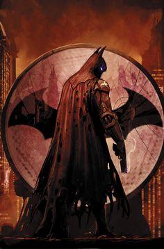 BATMAN: ARKHAM KNIGHT – GENESIS #6 cover •Stjepan Šejić