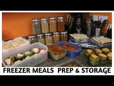 Freezer Meals Prep & Storage Dr. Sebi Approved - YouTube
