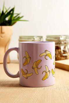 Banana Print Mug | Urban Outfitters