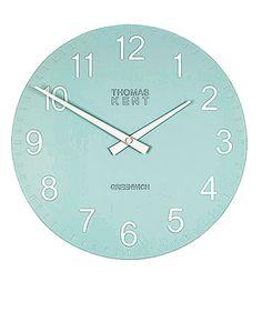 Wall clocks: Blue Cotswold, £40