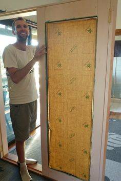 We have been busy building the french doors for our tiny house. In this post, I will explain how to build your own set of french doors. Our Environment, Entrance Doors, Diy Door, Tiny Living, French Doors, Tiny House, Building, Green, Entry Doors