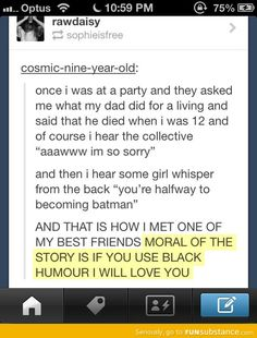 Halfway to becoming batman. This is for you Kelly