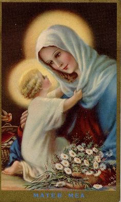 """Never be afraid OF LOVING the Blessed Virgin too much. You can never love her more than Jesus did."" - St. Maximilian Kolbe"