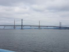 The Old and The New ..Forth Road Bridge