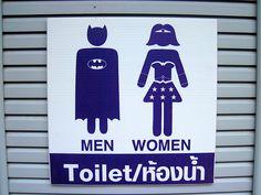 Bathroom Signs Gym casinha colorida: décor: 5 inspirações divertidas | banheiro